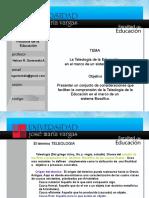 Teleologia de La Educacion