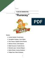 Plan de Marketing Runakay