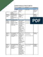 Detailed KS3 Scheme of Work