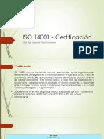 ISO14001 certificación