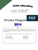 Prueba Diagnóstica Del Área de Matemática_ 1