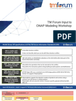 TM Forum Input to ONAP Modeling Workshop 2017-12-14