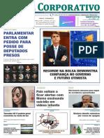 Jornal Corporativo número 3072 de 19 de março de 2019