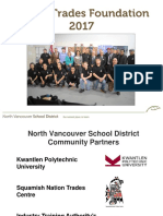 Piping Trades Foundation Presentation