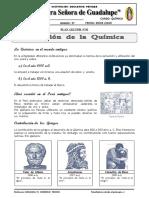 Plan Lector - Evolución de La Química