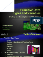 02. Primitive Data Types and Variables