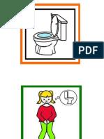 Pictograma baño