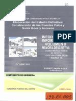 ESTUDIO DEFINITIVO DE LOS PUENTES PALCA Y SANTA ROSA Y ACCESOS VOL II 2013 EC5.pdf