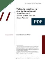 Vigilância e Controle Na Obra de Harun Farocki