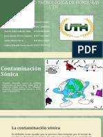 Presentación de contaminantes ambientales