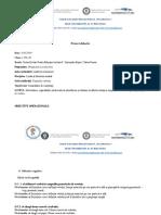 Proiect Lectie TIMPUL VERBULUI 18.03.2019 Predare