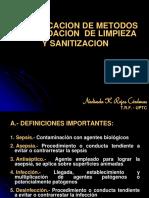 Limpieza y Sanitizacion