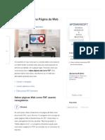 Top 10 Maneiras Grátis Para Salvar Páginas Web Como PDF