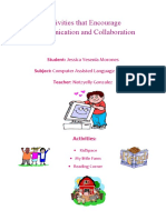 Activities That Encourage Communication and Collaboration