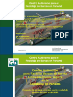 GREENDOCK Presentacion de  para Reciclaje Verde de Barcos en Puerto Armuelles Panama 2016