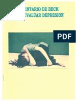 Manual Inventario de Beck Para Evaluar Depresión