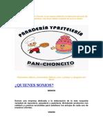 Panadería y pastelería Pan.docx