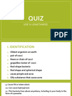 Quiz About Bacteria