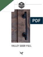 Valley Door Pull