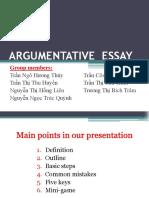 Argumentative Essay (1)