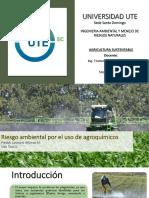 Agroquimicos y Ambiente