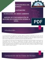 Análisis de Contaminación de Motores de Combustion Interna