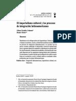 Imperialismo cultural y los procesos de integración latinoamericanos