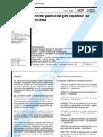 NBR 13523 - central predial de gás liquefeito de petróleo