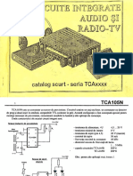 C.I. Audio Si Radio-TV Seria TCAxxxx - Catalog Scurt