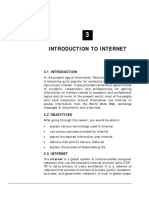 Computer Awareness Introduction to Internet Study Notes Free Download PDF