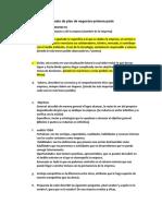Formato de Plan de Negocios Primera Parte (1)