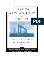 Classical Archaeology of Greece - p 143-147