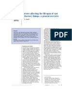 Factors affecting the lifespan of cast refractory linings