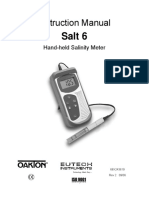 Ecoscan Salt 6 Manual
