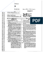 RAS Question Paper - Prelims - 19.11.2013