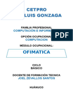 6. Modulo Ofimatica 2017-1 Joel