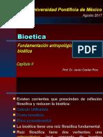 17-07-26 Bioética (Fundamentación Antropológica y Ética)