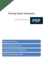 Konsep Dasar Homecare
