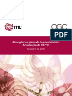 ITILV3 Scope and Development Plan Portuguese
