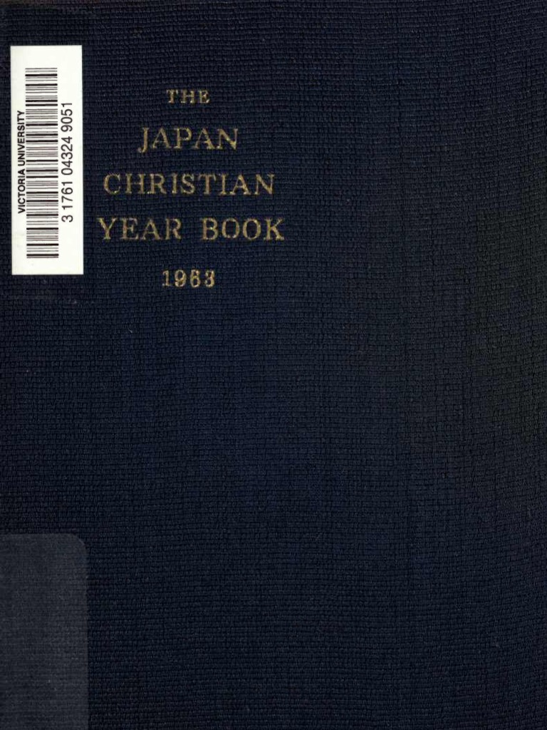 0ca635df3b Japan Christian Year Book