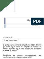 Algoritmos I - Introdução