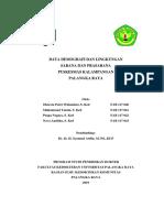 Kover Data Demografi Dan Lingkungan