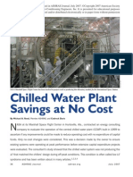 Chilled Water Plant Saving Cost July 07