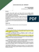3. Mareño-Masuero (2010) La Discapacitación Social Del Diferente. Modulo 1