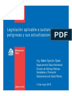 1 Legislacion Aplicable a Sustancias Peligrosas y Su Actualización