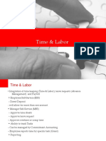 Time & Labour