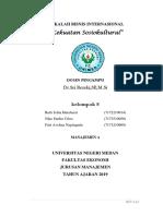 MAKALAH SOSIOKULTURAL  BISNIS INTERNASIONAL.docx