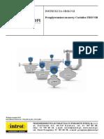 Operation manual Coriolis Flowmeter
