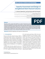 Capacity Assessment and Design of CFRP-Strengthened Steel Cannel Columns