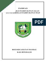 COVER Panduan Pendaftaran Pasien Rawat Jalan Dan Penerimaan Rawat Inap